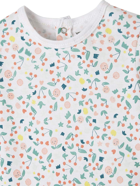 VERTBAUDET Lot de 3 pyjamas en coton b/éb/é lot corail moyen 12M 74CM