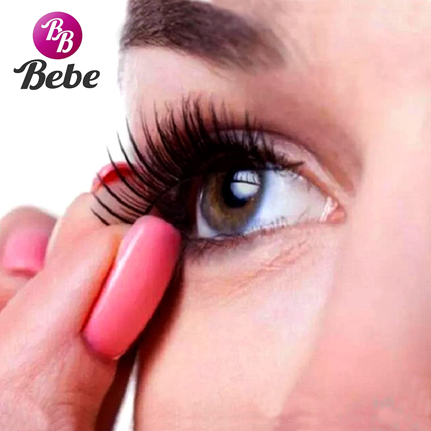 dc0d01e496c BeBe 3D Deluxe Magnetic False Eyelashes - INCLUDES FREE MIRRORBOOK AIR  Compact Mirror Ultra Thin Reusable Premium Extension Lashes No Glue For  Natural ...