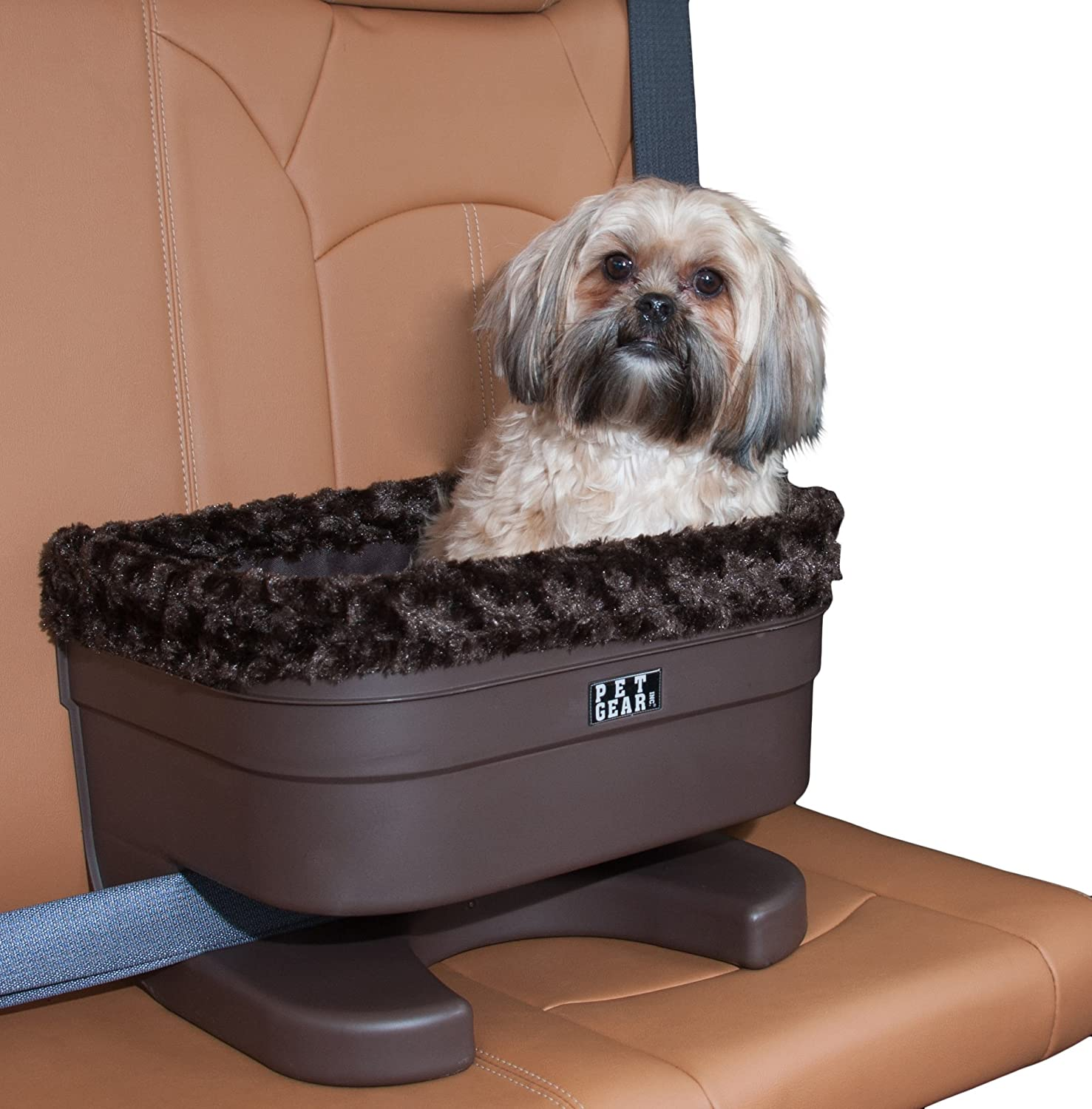 Amazon Pet Gear Bucket Booster Car Seat For Dogs Cats Removable Washable Comfort Pillow Liner Safety Tethers Included Installs In Seconds