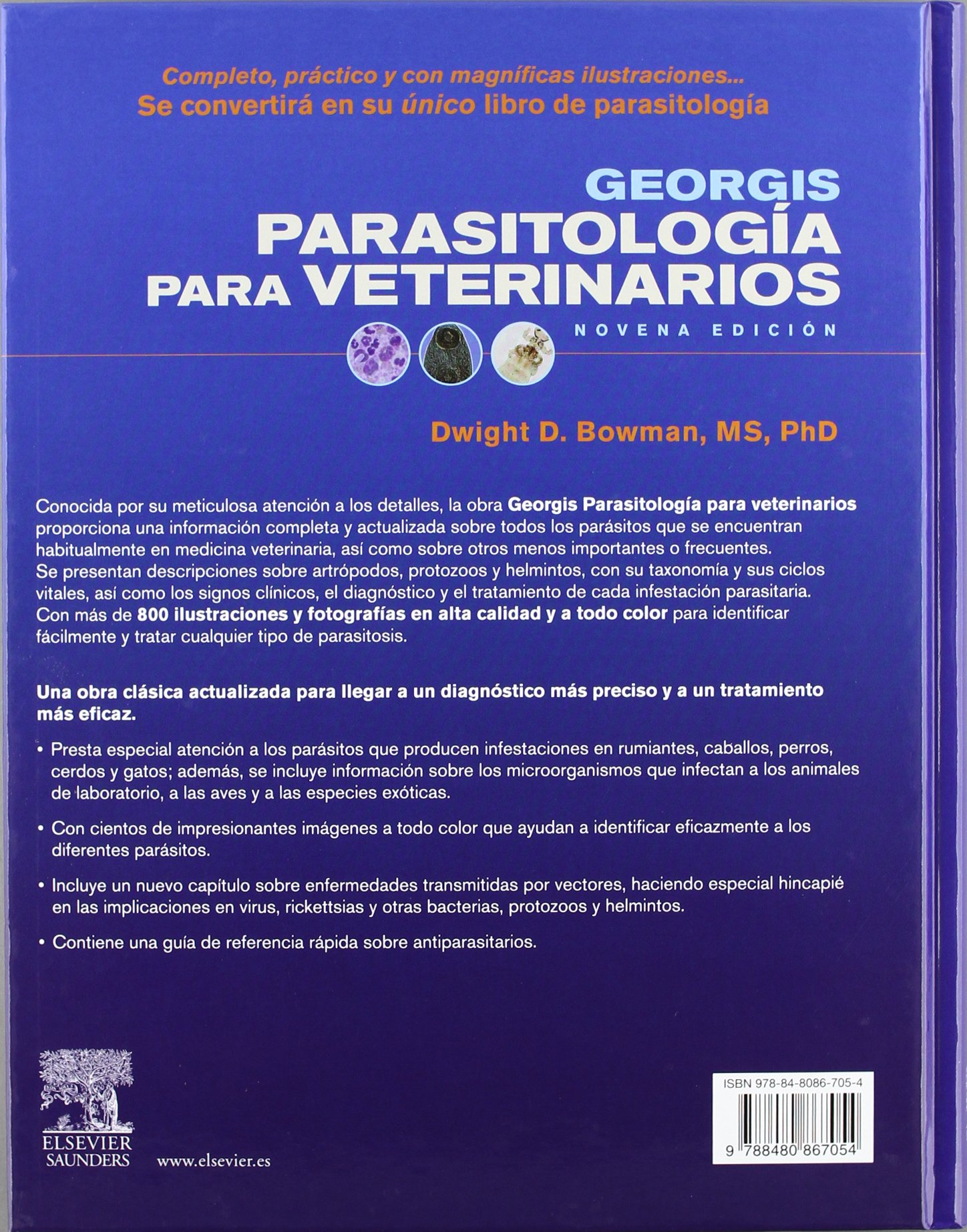 Georgis Parasitología para veterinarios: D.D. Bowman: 9788480867054: Amazon.com: Books