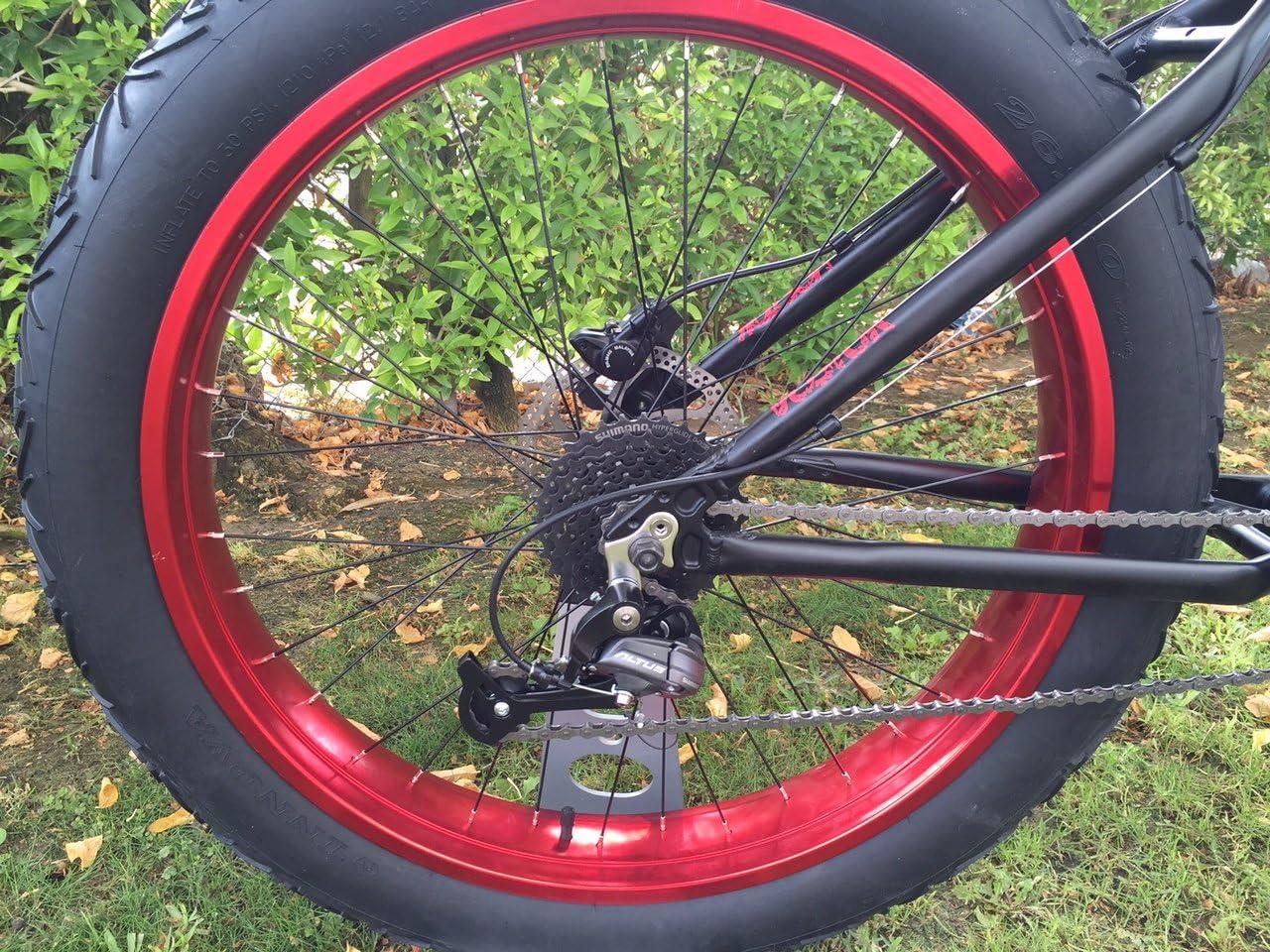 Berg Vostok Black Red Fatbike