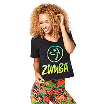 Zumba Fitness Z1t01241 T- T-Shirt Femme  Amazon.fr  Sports et Loisirs c061e22ed97