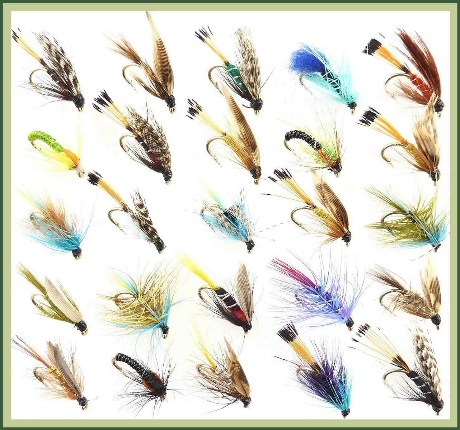 Trout Flies GOLD HEAD NYMPH Buzzer Fishing Flies Hook 12 33J BARBLESS X 30 Flies