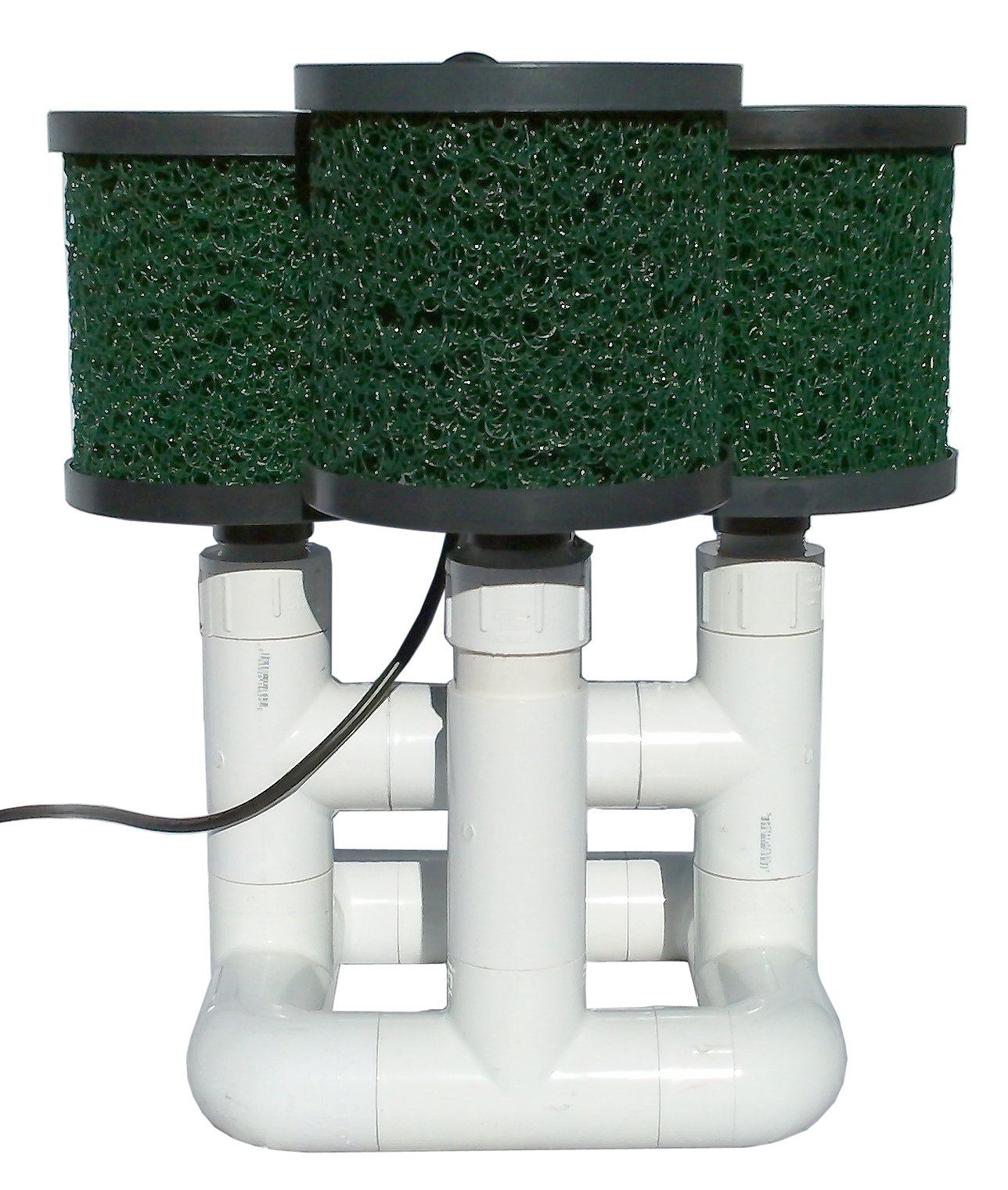Natural Current Savior Bottom Feeder Pond Open Power Pump and Filter System, 120-watt by Natural Current (Image #1)