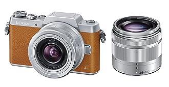 Panasonic ミラーレス一眼カメラ DMC-GF7ダブルズームレンズキット 標準ズームレンズ/望遠ズームレンズ付属 ブラウン