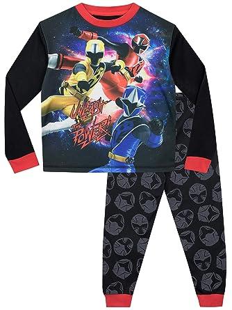 Amazon.com  Power Rangers Boys  Ninja Steel Pajamas Size 10 ... dcdc6e929