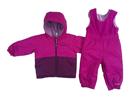 aced086ab Amazon.com  Columbia Baby Girls Twisty Cliffs Snow Set (Purple(531 ...