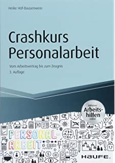 Crashkurs Personalarbeit Inkl Arbeitshilfen Online Vom Heike