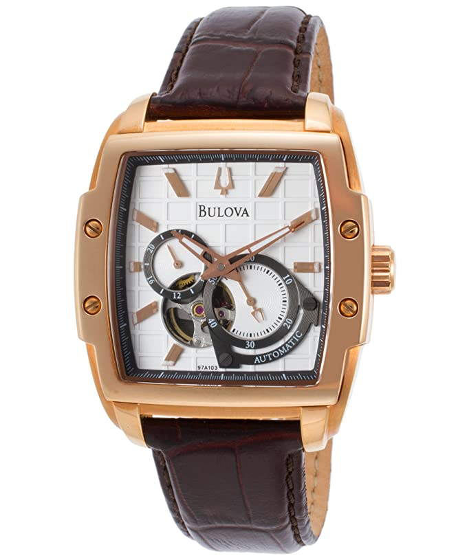 Bulova Men's 97A103 BVA Dual aperture dial Watch