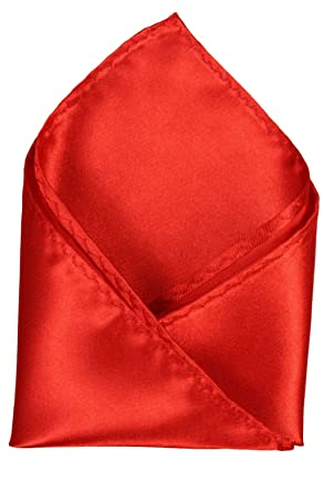 Alex Flittner Designs Panuelo de traje Hombre de color rojo ...
