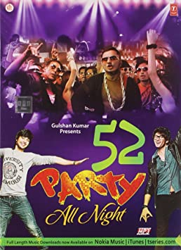 Party All Night 52 Nonstop Hindi Audio Remix Mp3 (Bollywood, Films, Songs,  Movies) (2014 Hindi Songs Remix) - Amazon.com Music