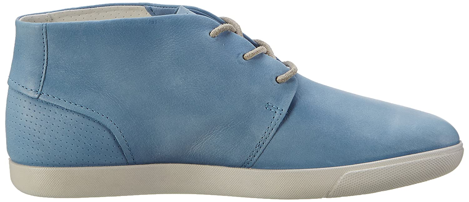 Ecco Damen Damara High Top, Blau (2471RETRO Blue), 41 EU