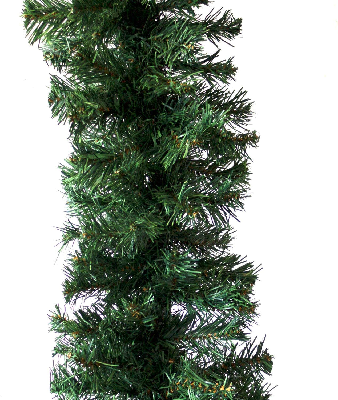 300 Spitzen Wohaga Tannengirlande Premium extra dicht k/ünstliche Weihnachtsgirlande f/ür In /& Outdoor Girlanden:270cm