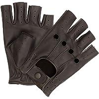 HOMBURY Leather Driving & Dressing Gloves for Men and Women- Fingerless Gloves