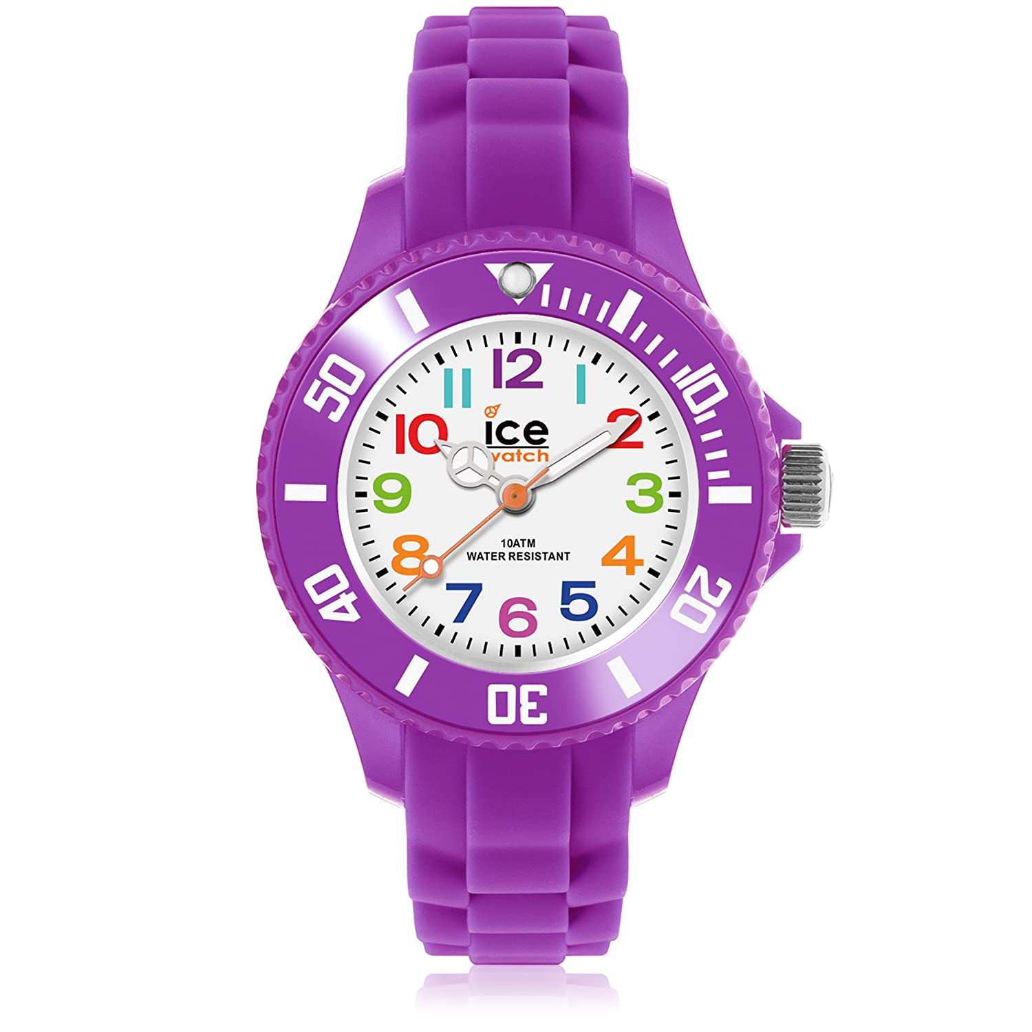 Armbanduhr  Ice-Watch Kinder-Armbanduhr Ice-Mini lila MN.PE.M.S.12: Amazon.de ...