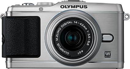 Olympus Pen E P3 Systemkamera 3 Zoll Kit Silber Inkl Kamera