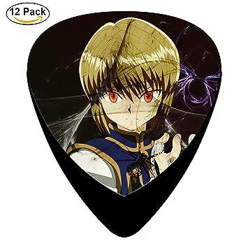 perhunter X Hunter personalizada celuloide púas para guitarra presentadas tamaño mediano barato Música 12 Pack directamente