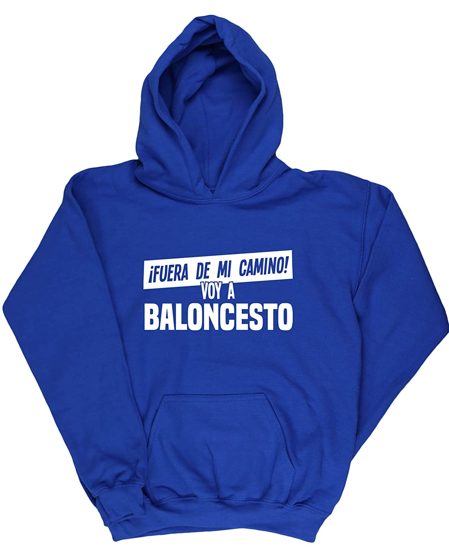 HippoWarehouse ¡Fuera De Mi Camino! Voy A Baloncesto jersey sudadera suéter derportiva unisex niños niñas: Amazon.es: Ropa y accesorios