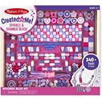 Melissa & Doug Deluxe Collection Wooden Bead Set, Great Gift for Girls and Boys – Best for 4, 5, 6, 7 and 8 Year Olds