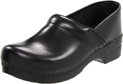 58174338c9644 Dansko Professional Cabrio Leather, Black, 43 (US Men's 9.5-10, US