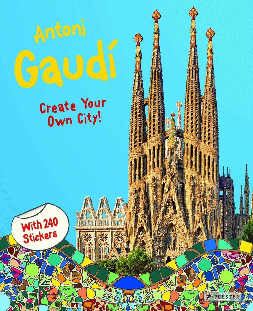 Download Antoni Gaudí: Create Your Own City Sticker Book pdf