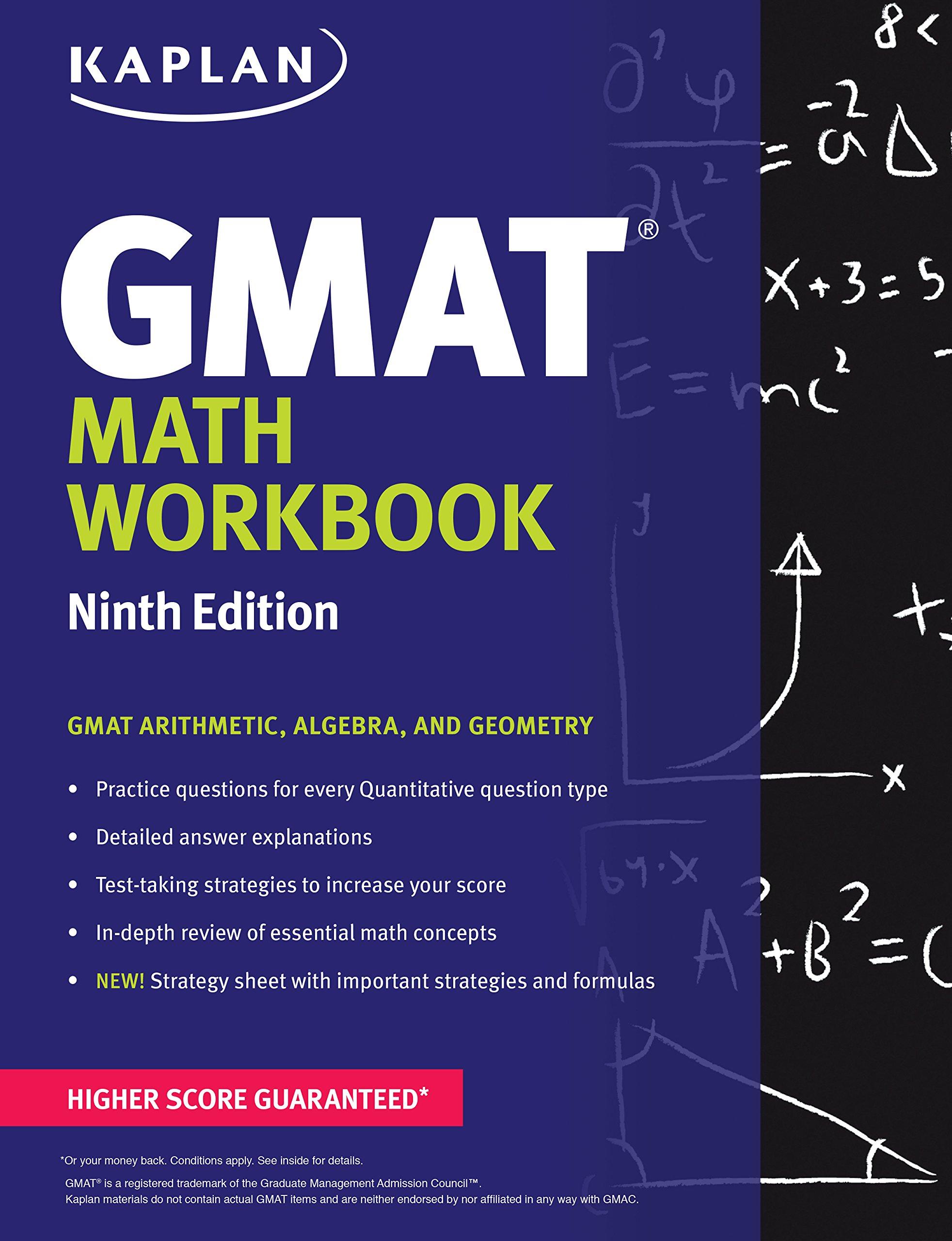 Buy Kaplan GMAT Math Workbook (Kaplan Test Prep) Book Online at Low ...