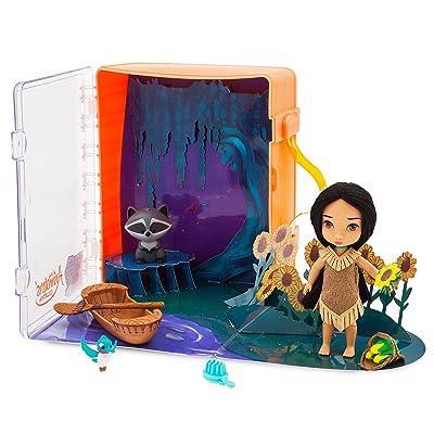 Disney Animators' Collection Pocahontas Mini Doll Play Set: Toys & Games