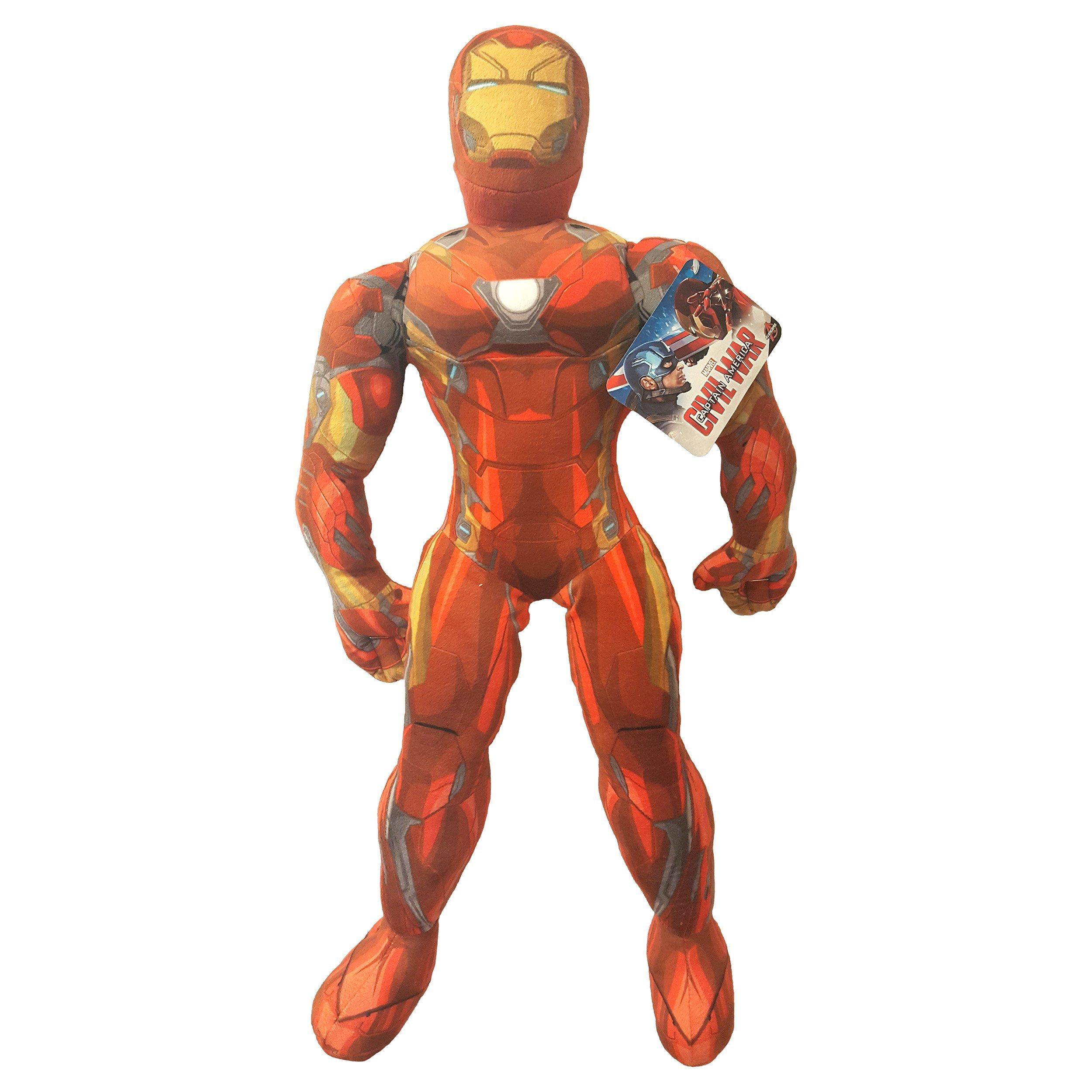 Marvel Captain America Civil War Movie Iron Man Plush Pillow Buddy