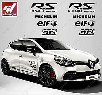 Aufkleber Set Sticker Sponsoren Rs Rs R S Renault Sport