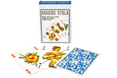 Da Brigh Russian Style Playing Cards Deck