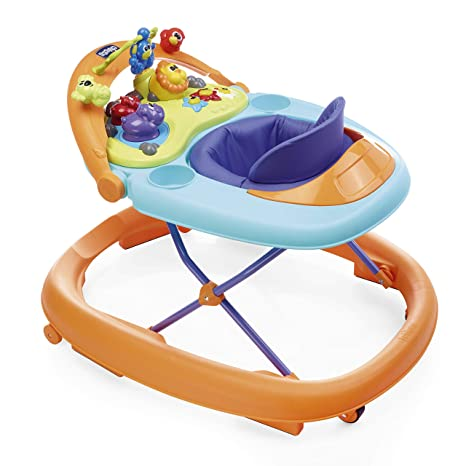 9e94480b0c79 Buy Chicco Walky Talky Baby Walker - Wave (Orange) Online at Low ...