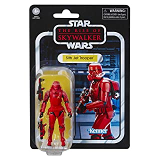 "Star Wars The Vintage Collection The Rise of Skywalker Sith Jet Trooper Toy, 3.75"" Scale Action Figure, Kids Ages 4 & Up"