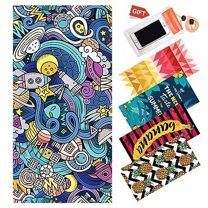 Microfiber Round Beach Towel Blanket Toalla Colgante Hippie Yoga Picnic Manta Animal WINTER DONG Toalla de Playa Redonda Grande C/írculo Tapiz