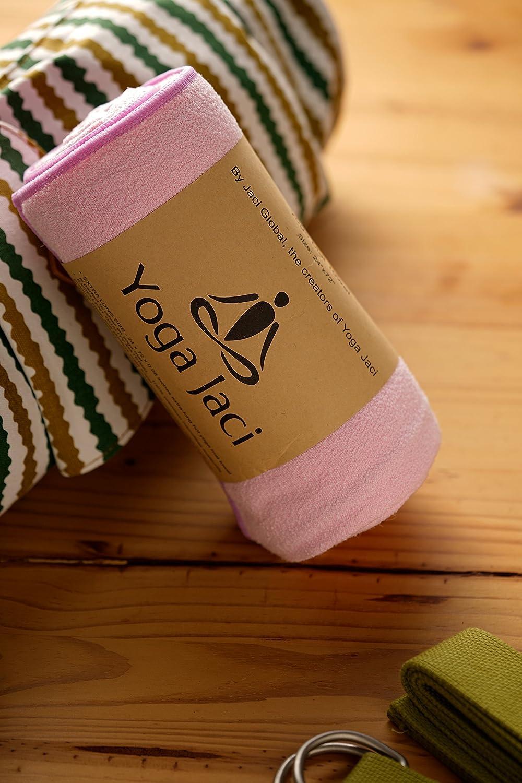 Yoga Jaci Yoga Mat Towel or Hand Towel or Combo Set Non Slip and Skidless Hot Yoga Jaci Global Perfect for Bikram Sweat Absorbent