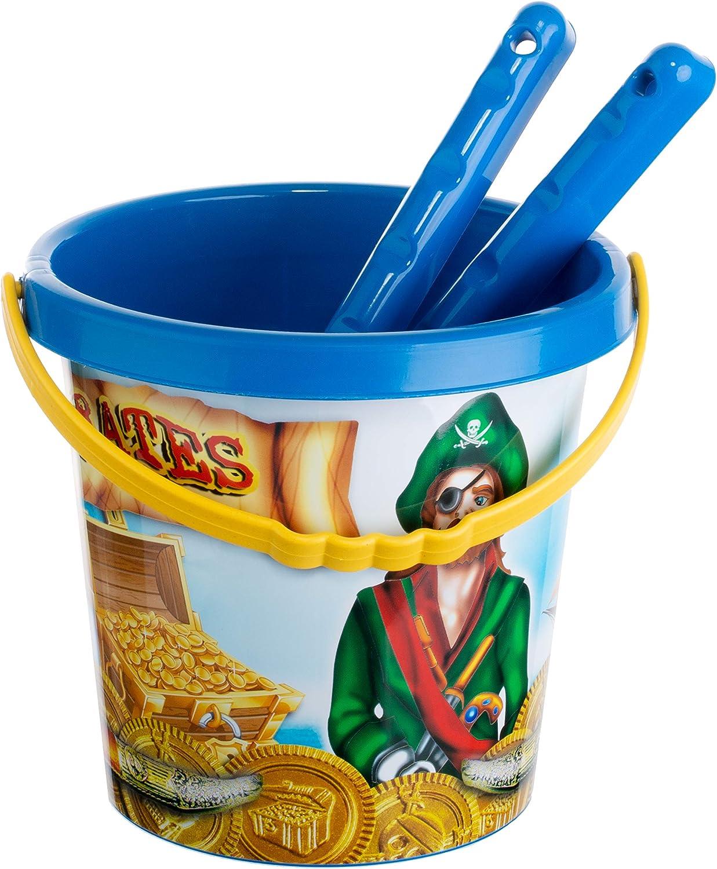 Kinderspielzeug 2 F/örmchen Schaufel Eimer Brandsseller Sandspielzeug Set Krake 6 teilig Strandspielzeug Harke Sieb