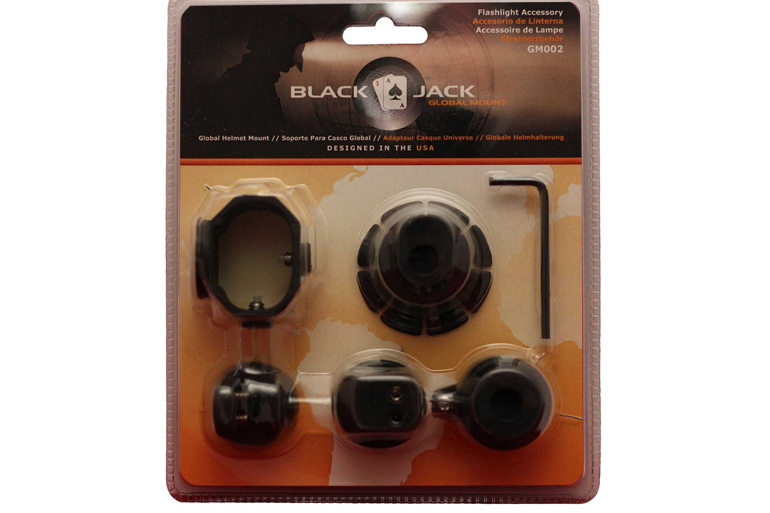 Blackjack Global Mount Firefighter Helmet Flashlight System
