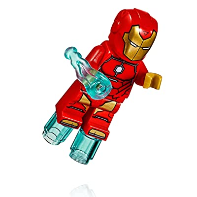 LEGO Super Heroes: Iron Man MiniFigure - Invincible Iron Man (From Set 76077): Toys & Games