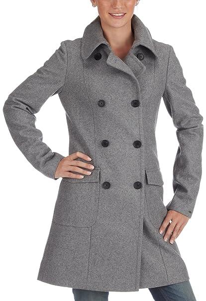 Tommy Hilfiger Madison Coat 1 m80524383 Mujer Abrigo gris 42: Amazon.es: Ropa y accesorios