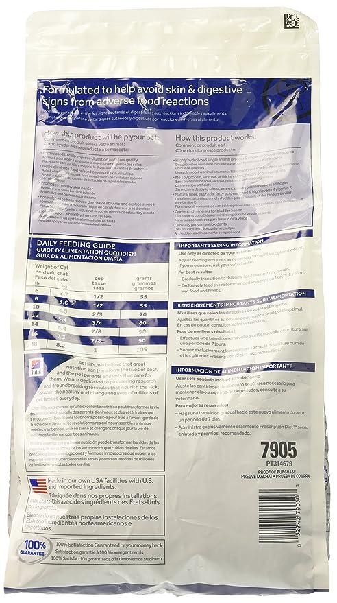 Amazon.com : Hills Z/D Low Allergen Cat Food 4 lb : Dry Pet Food : Pet Supplies