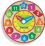 Amazon.com: Melissa & Doug Shape Sorting Clock - The ...