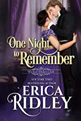 One Night to Remember: A Regency Romance (Wicked Dukes Club Book 5) Kindle Edition