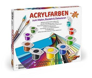 Schipper 605190741 Malen Nach Zahlen Acrylfarben Set Mit 36