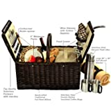 Picnic at Ascot Surrey Willow Picnic Basket with