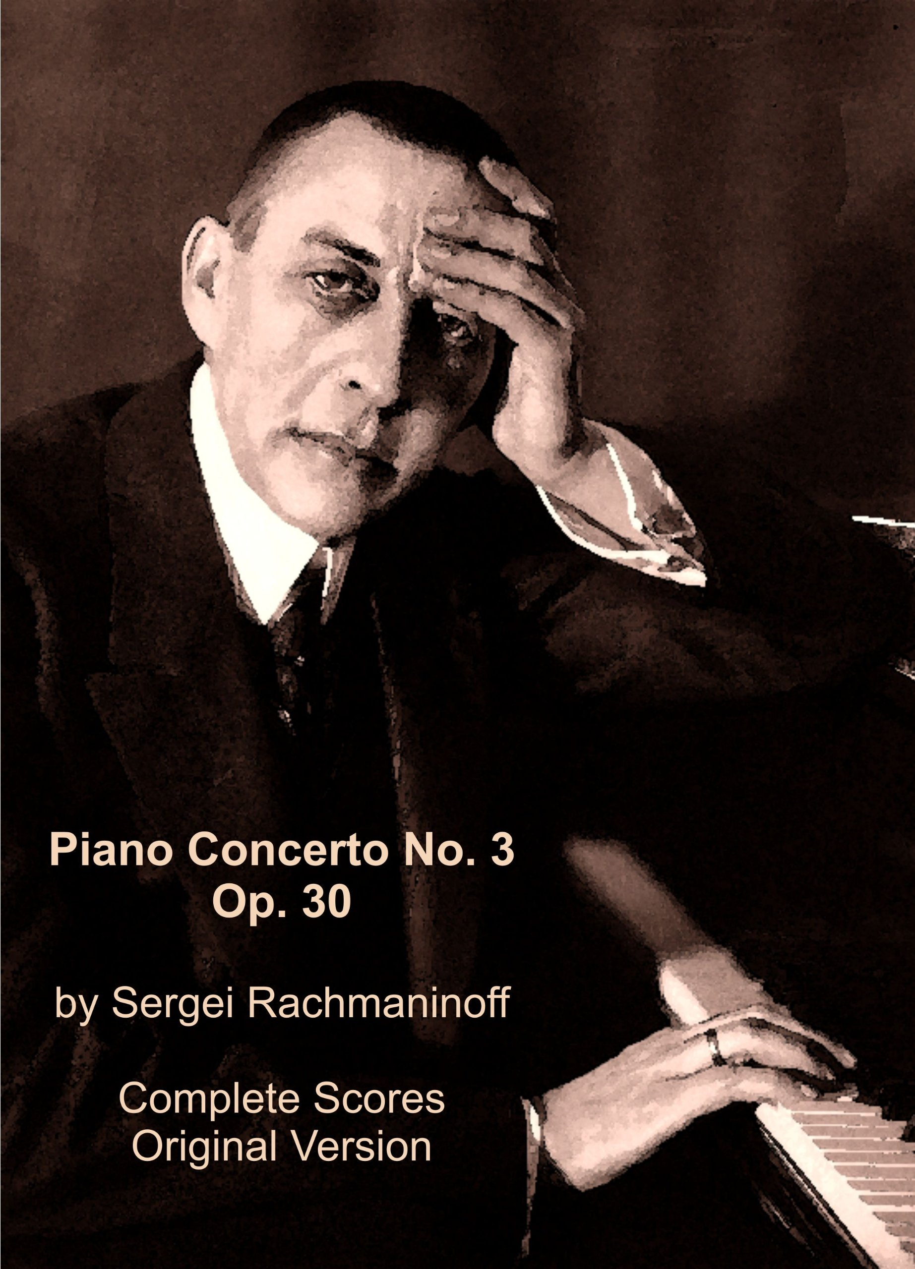 Read Online PIANO CONCERTO No. 3 Op. 30 by Sergei Rachmaninoff. Full Score All Instruments. (Facsimile 2012) pdf