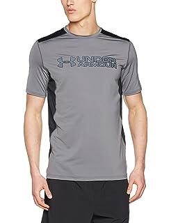 70f966ac Amazon.com: Under Armour Men's Raid Turbo Graphic Short Sleeve: Clothing