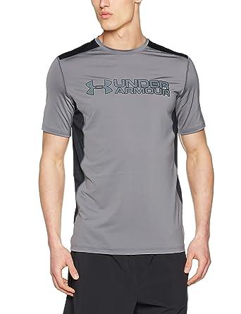 fef0af7c Under Armour Men UA RAID GRAPHIC SS UA RAID GRAPHIC SS T-Shirt, Grey