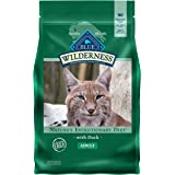 Blue Buffalo Wilderness High Protein, Natural Adult Dry Cat Food, Duck 5-lb