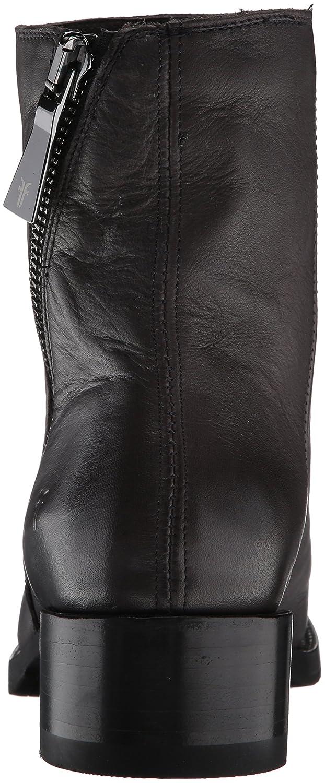 FRYE Women's Demi Zip Bootie Boot B01MU72B4Z 7.5 B(M) US|Charcoal Polished Soft Full Grain