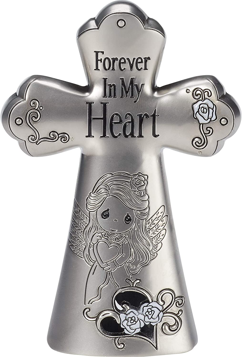 Precious Moments Forever In My Heart Angel Zinc Alloy Cross 182403