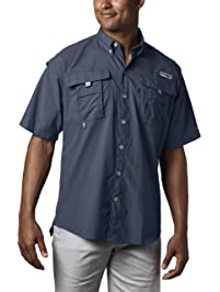 8ac1cea7 Columbia Men's PFG Bahama II Short Sleeve Shirt